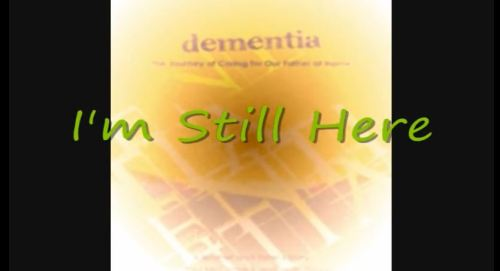 i am still here graphic to go with song