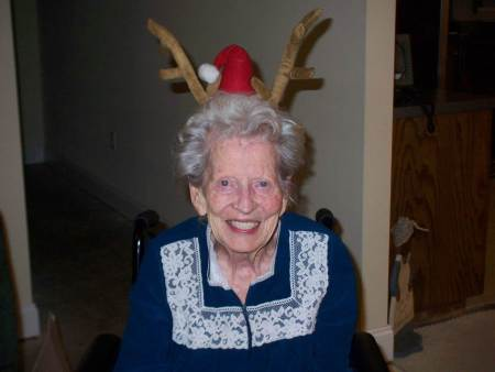 mama reindeer ears